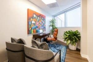 Consultation Room at Omaha Med Spa